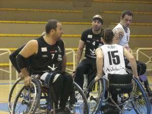 Jugadores del Mideba Extremadura