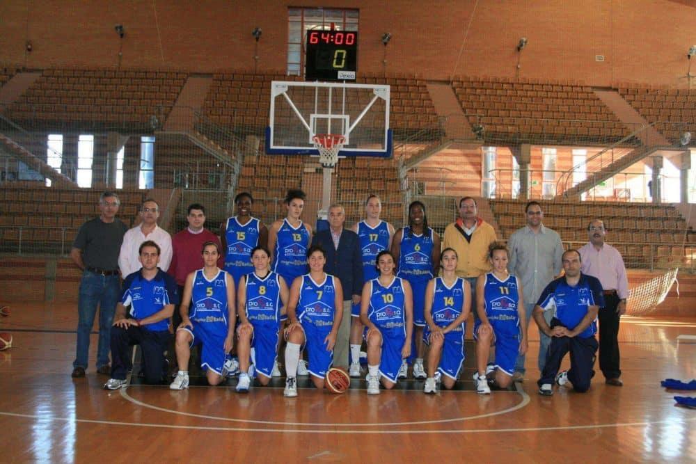 Plantilla del ultimo equipo Femenino en LF2. (Profasa CB Badajoz)