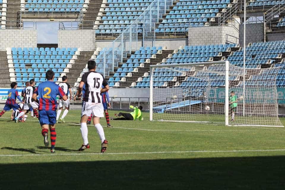 Imagen del encuentro del pasado domingo ante el Extremadura. Foto: Facebook Badajoz Club de Fútbol.