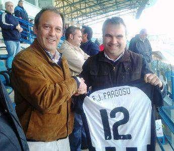Alcalde. (Fotografía sustraida de Facebook Badajoz Club de Futbol)