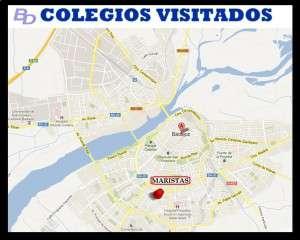 COLEGIOS VISITADOS MARISTAS