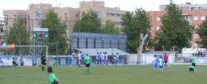 Celebración del 3-2 de Javi Yiropa.