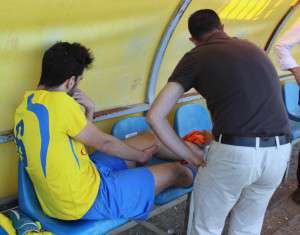 La lesión de Juanjo Reyes mermó aún más si cabe la parcela creativa del Valdelacalzada.