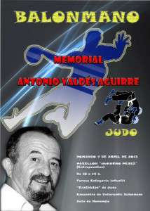 "Cartel del ""Memorial Antonio Valdés""."