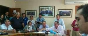 Imagen tomada por Samuel Durán @Samudt, durante la celebración del sorteo, en la sede de la FEXF.