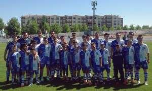 11 titular del Cerro con jugadores de la cantera.
