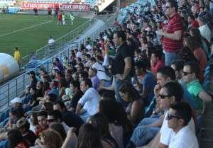 Más de 1500 espectadores se dieron cita en el Nuevo Vivero.