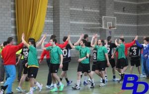 Imagen de la UBP durante un partido de esta temporada.