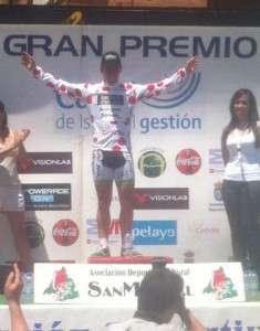 Daniel Sánchez en el podio.