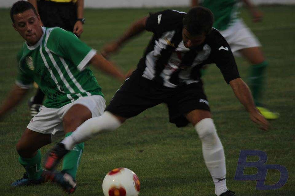El Badajoz CF el pasado domingo en Valverde.