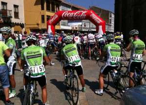 El equipo en Palencia.
