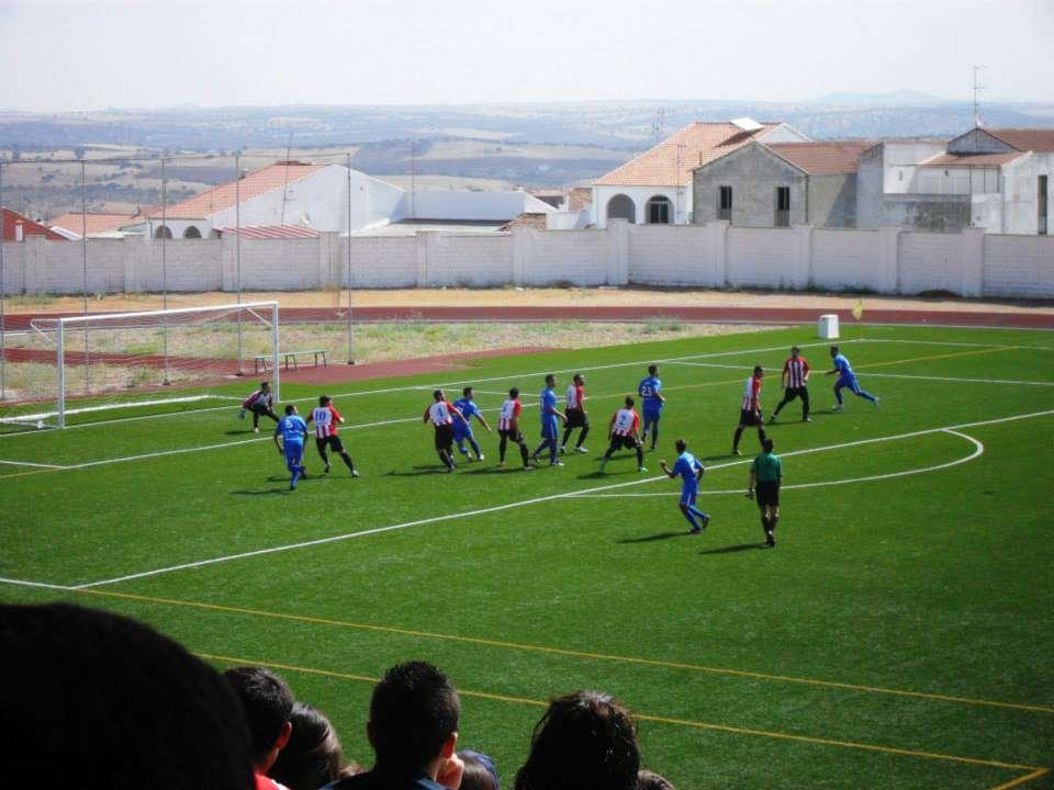 El Badajoz CF buscaba la victoria.