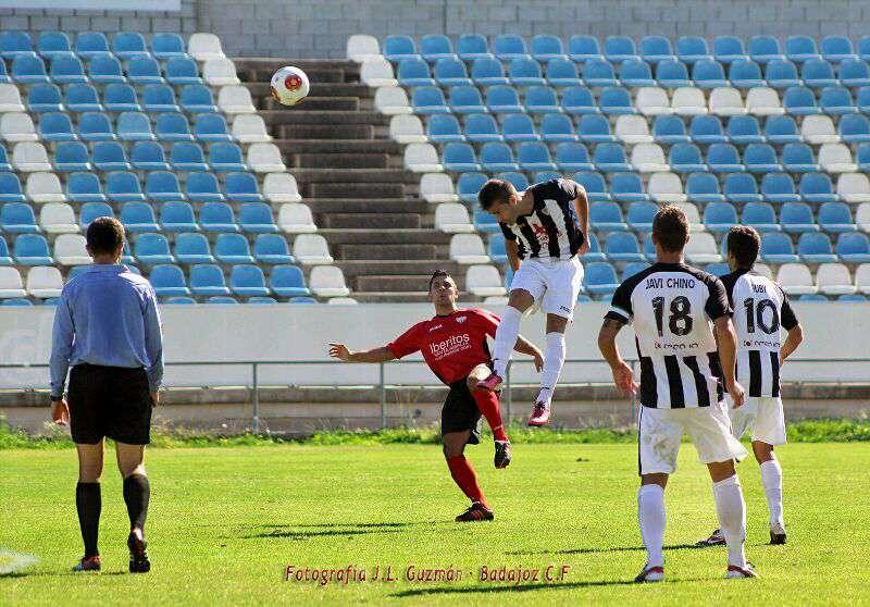Imagen del pasado domingo. Foto: Badajoz CF.