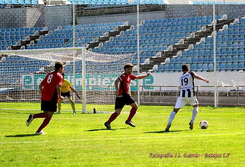 Imagen de la pasada jornada. Foto: Badajoz CF.