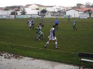 Fotografía del encuentro Valdivia-Talarrubias.