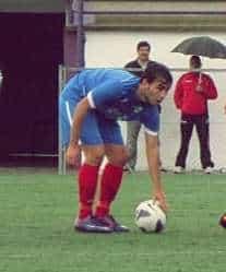 Marabé, nuevo integrante de la Selección extremeña // Imagen de la página web del Don Bosco.