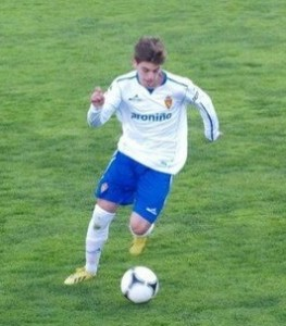 Daniel Luengo en su etapa en el Zaragoza.