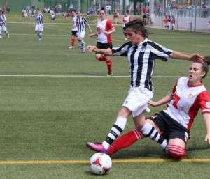 Acción en el partido de la temporada pasada.