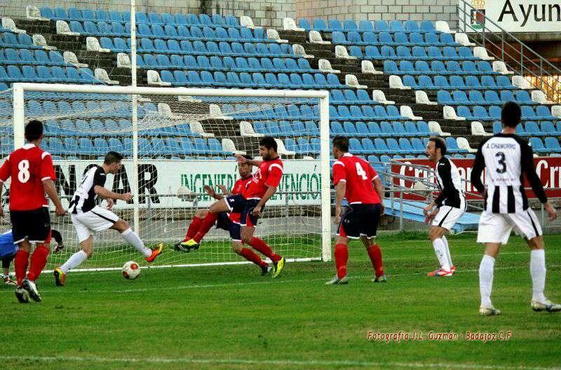 Imagen del pasado domingo. / Badajoz CF.