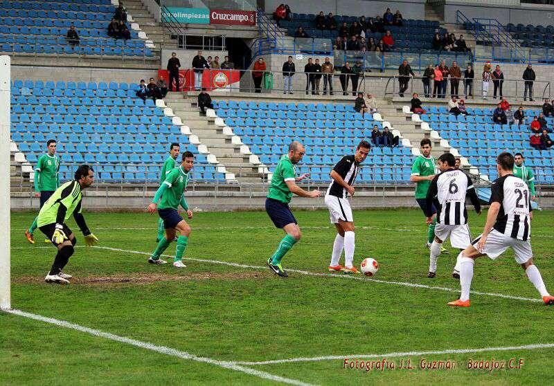 Imagen de la pasada jornada. / Badajoz CF.