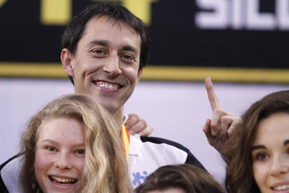 Antonio Barril, entrenador del equipo. FEB