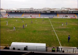 Imagen del encuentro. / Badajoz CF.