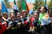 Las chicas de la Selección Extremeña celebran con la copa | BADAJOZ DEPORTES