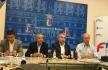 Alberto Cabello, Pachi de la Peña, Francisco Javier Fragoso y Miguel Ángel Rodríguez de la Calle en la presentación | JCS