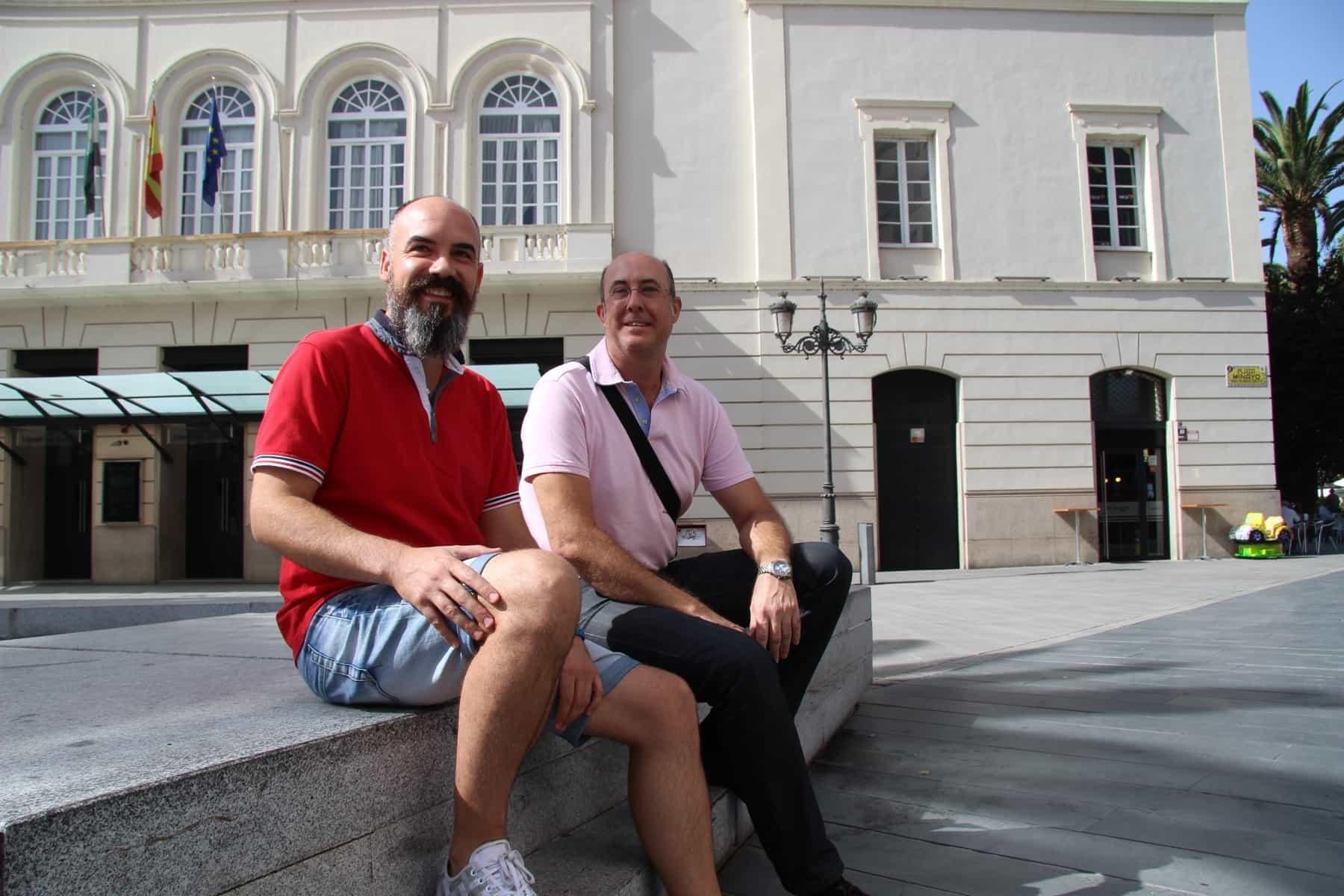 Alvaro Roa y Jesús Gata el 6 de Septiembre de 2016. JOAQUÍN CUADRADO