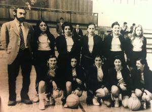 El equipo en Cáceres a inicios de los años 70. | CEDIDA