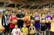 Rodrigo de la Peña junto a sus chicos en un entrenamiento. | JCS
