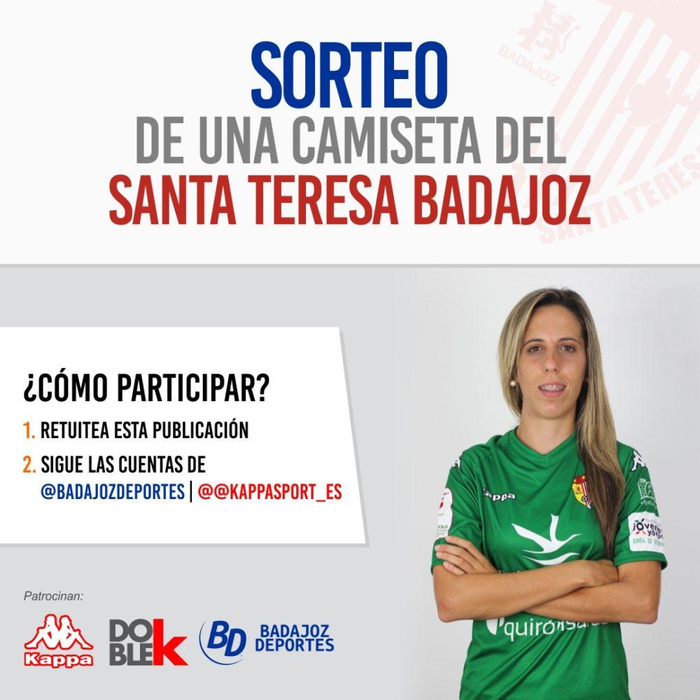 ¡Consigue tu camiseta del Santa Teresa! - Badajoz Deportes