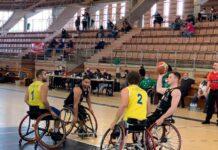 El Mideba Extremadura jugando un partido contra el BSR Ace Gran Canaria