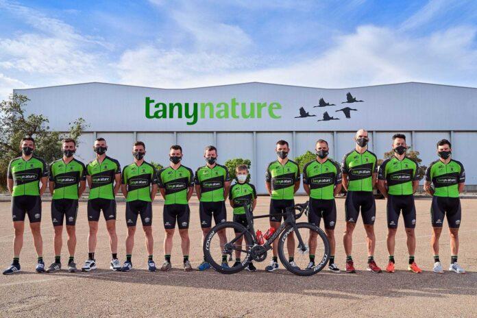 Ruben Tanco con su nuevo equipo Tany Nature